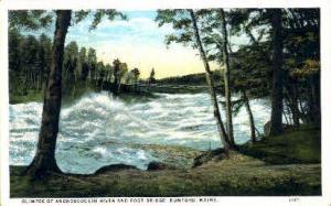 Androscoggin River Rumford ME 1928