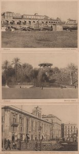 Catania Archi Della Marina Piazza Stesicoro Italy 3x Old Postcard s