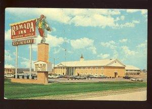 Effingham, Illinois/IL Postcard, Keller Ramada Inn, Interstate 70-57