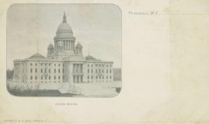 State House Providence RI Rhode Island Postcard E9