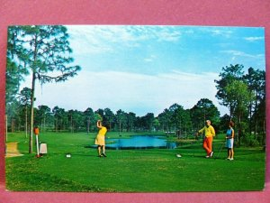 Postcard FL Tarpon Springs Innisbrook Golf Course 7th Hole
