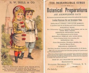 Victorian Trade Card Approx size inches = 3 x 5.25 Pre 1900 paper wear on bac...