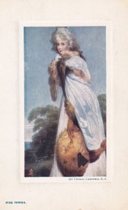 Old English Masters, Sir Thomas Lawrence, R.A., Miss Farren, TUCK No. 9727,...