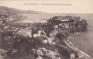 Monaco Vue generale de la Principaute