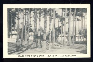 Salisbury, Massachusetts/Mass/MA/Mass, Beach Road Grove Cabins, Route 1A