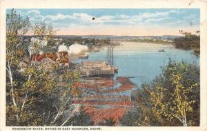 25180 ME, East Hampden, Pnobscot River