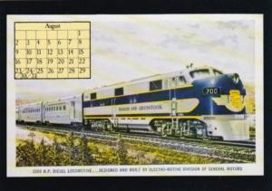 1987 Calender Series August From Postcard Collector Magazine