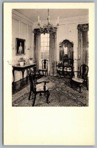 Postcard Winterthur DE c1960s Stair Hall Readbourne Centerville Maryland 1733