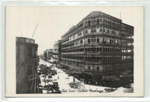 egypt, PORT SAID, Eastern Exchange Hotel (1950s) RPPC