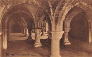 Belgium Abbaye de Maredret Crypte Abbey
