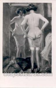 Artist Albert Guillaume Nude, Nudes Postcard Postcards  Artist Albert Guillaume