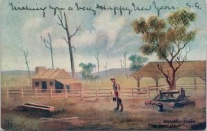 The House About Australia Australian Series Postcard F9