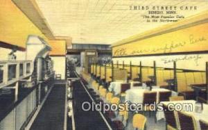 Bemidji, Minn. USA USA Third St. Caf? Road Side Postcard Post Cards  Bemidji,...