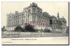 Old Postcard Saint Germain en Laye saw the castle park
