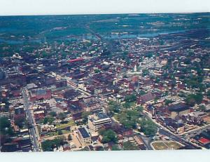 Unused Pre-1980 AERIAL VIEW Schenectady New York NY A3885