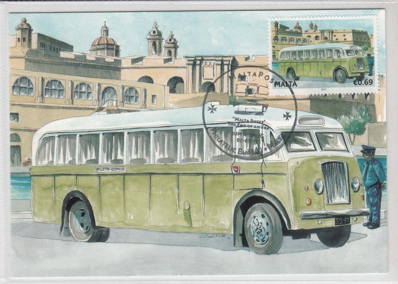 Maxi Card Malta Buses Bus - The end of an Era - Bedford QL