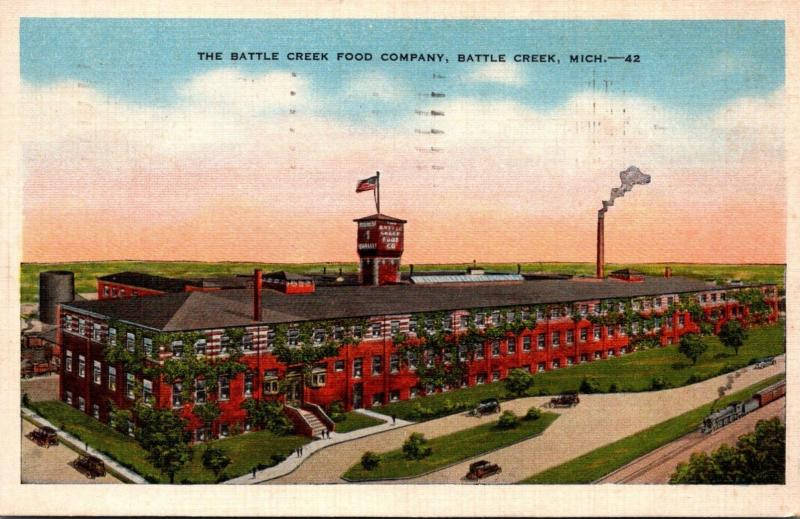 Michigan Battle Creek The Battle Creek Food Company 1943