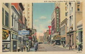 KNOXVILLE , Tennessee , 1930-1940s ; Gay Street