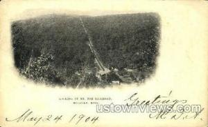 Mt Tom Railroad Holyoke MA 1904