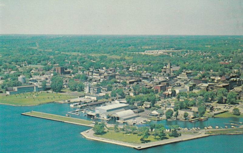 BROCKVILLE , Ontario , Canada , 50-60s ; Bird's Eye View