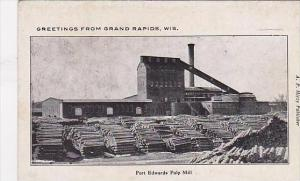 Wisconsin Grand Rapids Port Edwards Pulp Mill
