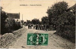 CPA Ratenelle Route de Tournus FRANCE (955407)