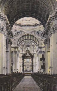 Interior Of James Cathedral, MONTREAL, Quebec, Canada, 1900-1910s