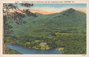 Birdseye View Of Fairfield Inn On Fairfield Lake Cashiers North Carolina