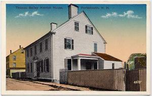 Thomas Bailey Aldrich House - Portsmouth NH, New Hampshire - WB