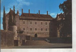 Postal 014163: Palacio de los Duques de Braganza en Guimaraes, Portugal
