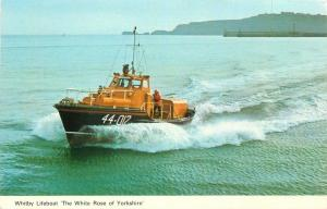 Whitby lifeboat the White Rose of Yorkshire