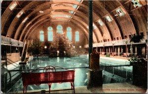 1910 - BOISE, IDAHO. INTERIOR, NATATORIUM. POSTCARD VINTAGE
