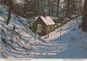 Toll House River Bank Durham Womens Institute Rare Photo Postcard