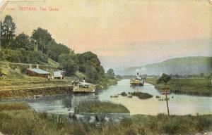 1907 Printed Postcard; Trefriw, The Quay, River Crafnant, Wales, Posted