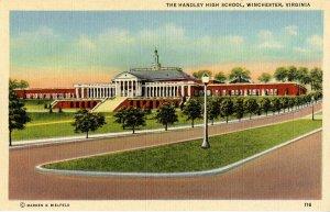 VA - Winchester.   Handley High School