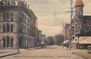 Washington Street Titusville, Pennsylvania PA