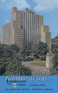 Montreal Canada, du Canada Laurentien Hotel  Laurentien Hotel