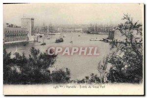 Postcard Old Marseille Old Port Entrance