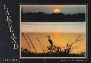 Sunset Over Lake Hollingsworth Lakeland Florida