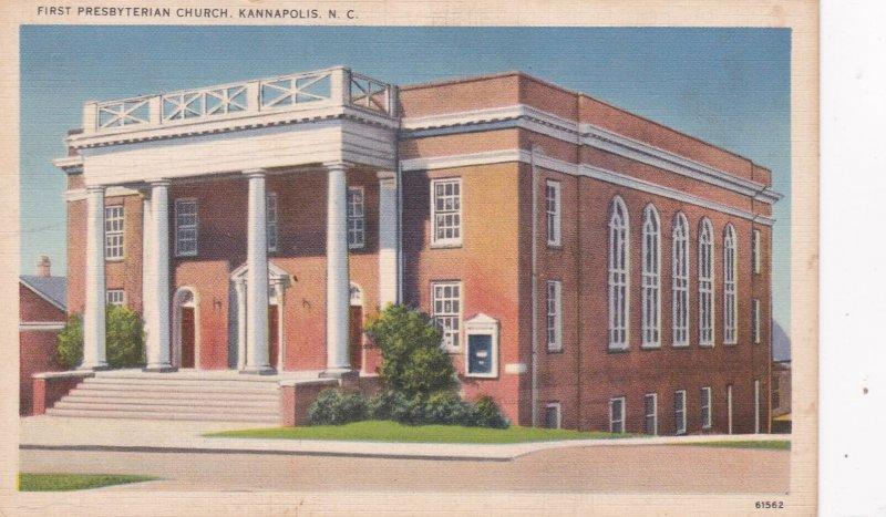 KANNAPOLIS , North Carolina , 30-40s ; First Presbyterian Church