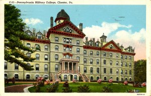 PA - Chester. Pennsylvania Military College