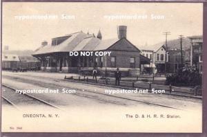 D & H Station / Depot, Oneonta NY