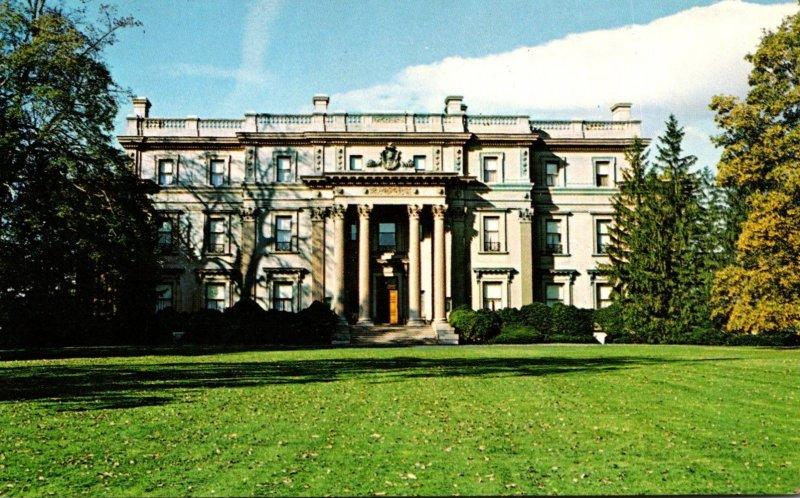 New York Hyde Park Vanderbilt Mansion National Historic Site