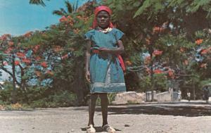 PAYSANNE KENSCOFF, Haiti, West Indies, 40-60s; Haitian Girl