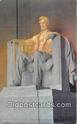 Artist Daniel Chester French Abraham Lincoln Statue