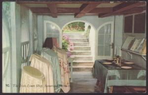 Irish Linen Shop,Somerset,Bermuda Postcard