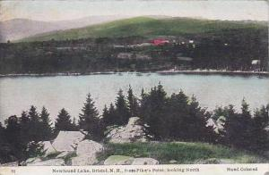 New Hampshire Bristol Newfound Lake From Pikes Point Looking North 1950