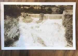 River Falls Peterboro postcard NH  1934  New Hampshire