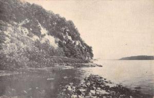 Port Deposit Maryland Susquehanna River Shore Antique Postcard K84232