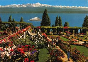 Postcard INSEL MAINAU Bodensee Rosengarten GERMANY